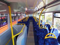 GAL EH52 - YX16OCH - INTERIOR - BV GARAGE - 28TH APR 2016 E (Bexleybus) Tags: bus london ahead interior garage go 400 belvedere dennis mmc bv enviro adl goahead eh52 yx16och