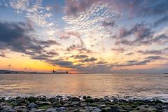 - Sunset at the beach (basaza) Tags: canon  30d  1635