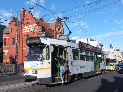 Yarra Trams 95 South Yarra