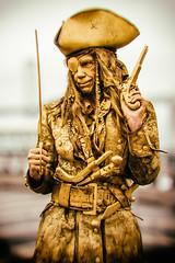 His Friend the Pirate (Thomas Hawk) Tags: sanfrancisco california usa unitedstates unitedstatesofamerica pirate