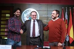 La UVa firma un convenio con Energtica coop., la primera cooperativa de energa elctrica renovable de Castilla y Len (carlos.barrena) Tags: uva primera cooperativa castillaylen energa elctrica renovable convenio energticacoop