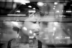 in.divisible (MdKiStLeR) Tags: street urban bw cinema love night hongkong lights asia doubleexposure candid layers tst thisisit 2016 pastpresentfuture urbanx indivisible thisisthefuture mdkistler copyrightmichaelkistler