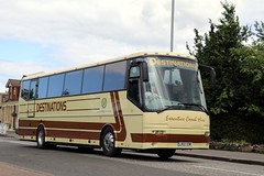 Destinations, Harthill LR07EMF (busmanscotland) Tags: barley richmond emf futura destinations bova kto 729 harthill lr07 fhd120365 729kto lr07emf