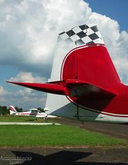 RV's Tail (Antnio A. Huergo de Carvalho) Tags: airplane experimental aircraft aviation tail vans rv avio rudder aviao leme deriva cauda rv9a vansrv aviaoexperimental pufeg