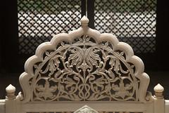 Marble carvings on the Tomb (VinayakH) Tags: india graves hyderabad tombs carvings necropolis nizam nobility paigah paigahtombs telangana maqhbarashamsalumara