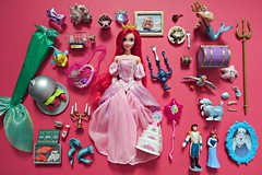ariel's favourite things (girl enchanted) Tags: ocean sea toy ship sebastian disney collection figurines collectible ursula figures eels mattel triton flounder scuttle flotsamandjetsam princeeric arieldoll thelittlemermaiddoll