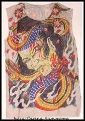 tattoo polo yakuza (JuliaCarina Design) Tags: japan tattoo design julia carina yakuza grafika polok szines tetoválás egyedi hatásu szublimált