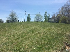 (cadainian) Tags: summer nc grave cementery fence hill mountain brookshire moretz grass green blue boone jones jonesmoretz