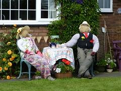 Tea Time (Thomas Kelly 48) Tags: lumix scarecrow panasonic halsall westlancashire fz150 halsallscarecrowfestival