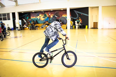 IMG_5638edit (Philadelphia Parks and Recreation) Tags: santa family winter holiday kids event giveaway adults westphilly pinkbike district8 pumptrack carouselhouse sharetheride
