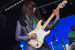Khruangbin @ Lunar Festival 2 (preynolds) Tags: musician music festival rock concert birmingham raw dof stage gig livemusic noflash fender indie alternative mark2 stagelights tamron70200 canon5dmarkii counteractmagazine tamronsp70200f28divcusd