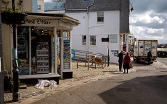Outside the Post Office, St Ives (thriddle) Tags: cornwall stives