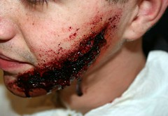 Face wound (ross-sfx) Tags: face blood lorenzo gore wound viso sfx fakeblood ferita effettispeciali