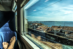 Ritorno a casa (-Andreyes- www.andreabastia-photo.com) Tags: photo mare andrea treno trieste golfo bastia facebook adriatico finestrino friuliveneziagiulia wwwandreabastiaphotocom httpswwwfacebookcomandreabastiaphoto376103225924046