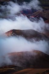 Clouds in Mt. Haleakala Crater, Maui, Hawaii (Michael Riffle) Tags: summer mountain fog clouds volcano hawaii nationalpark maui haleakala crater southpacific geology haleakalanationalpark 2016 mthaleakala michaelriffle