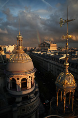 8me arrondissement . paris (Ross Reyes) Tags: sunset cinema paris clouds rainbow dusk cinematic contrails parisfrance rooftopview palaisgarnier leprintemps parisnoir makeamovie moodyskies rossreyes lestoitsdeparis 8mearrondissement cieldeparis parisskies cinematicphotography underparisskies parisrooftop lookslikeamovie fareuncinema independenttravelphotography cinematictravelphotography