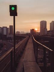 last sun (E.Chiereguini) Tags: fuji fujifilm sp matte monotrilho sunset