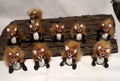 volpi (mindi64) Tags: fimo cernit handmade artigianale cute volpi volpine fox animaletti