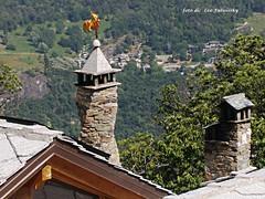 cockerel , chimney spiral    -galletto, comignolo a spirale - Michelangelo  Bernini (Leo Fulviosky) Tags: cockerel chimneyspiralgalletto comignoloaspirale