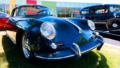 1962 Porsche 356B Karmann notchback (hz536n/George Thomas) Tags: summer copyright canon michigan porsche canon5d flint carshow karmann 356b notchback 2016 ef1740mmf4lusm cs5 sloanmuseum sloanmuseumautofair