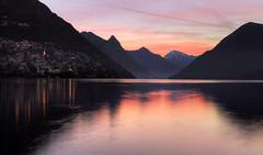 Sunrise in Lugano...partly explored 2/7/16 (Alex Switzerland) Tags: sunrise canon landscape eos schweiz switzerland ticino suisse alba svizzera sonnenaufgang lugano paesaggio 6d luganese ceresio
