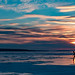 Crossing Lake Superior at sundown - 3rd Place People in Nature - Al Perry