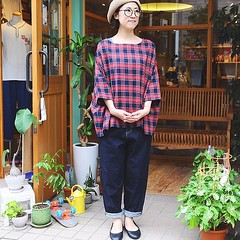 July 13, 2016 at 05:15PM (audience_jp) Tags: shop  ootd  denim fashion   japan   style  sung    tokyo madeinjapan  casual audience