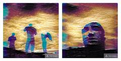 pompeii psychedelica (miemo) Tags: travel sky italy art history statue clouds spring wings ancient diptych ruins europe campania roman digitalart olympus pompeii psychedelic winged psychedelia unescoworldheritage pompei omd prisma tiltshift ancientrome igormitoraj historicalsight omzuiko28mmf28 em5mkii prismaapp