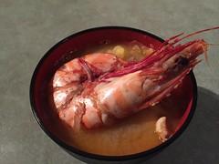 IMG_0033 Ishikari nabe (drayy) Tags: winter food dinner japanese hokkaido claypot  hotpot broth nabe   ishikari ishikarinabe  hokkaidostyle
