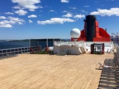 Cunard Queen Mary 2 - Deck 13 (trakked) Tags: cunard queen mary 2 deck 13