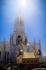Jess, Luz de salvacin y vida... (_Alexander7) Tags: life santa morning blue light sky sun color art luz maana church beau