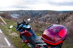 Cañón del Rio Dulce (DOCESMAN) Tags: bike honda spain guadalajara canyon riodulce moto motorcycle motor deauville motorrad cañon motorcykel moottoripyörä motocykel motorkerékpár nt700v ntv700 docesman mototsikl danidoces