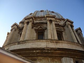 Cúpula de la Basílica de San Pedro del Vaticano, Ciudad del Vaticano, Ciudad del Vaticano