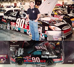 #51-48, The Late Dick Trickle, #90, Heilig Meyer, Pictures With Real Hot Wheels Cars & Their Diecast (Picture Proof Autographs) Tags: photograph photographs inperson pictureproof photoproof picture photo proof image images collector collectors collection collections collectible collectibles classic authentic authenticated real genuine diecast auto autos vehicles vehicle model toy toys automobile automobiles autoracing sport sports nascar series winstoncup sprintcup busch nationwide hotwheels fred frederick weichmann