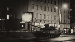 (GoTown.ru) Tags: street city night army evening tank russia moscow parade armor russian today armed 9may