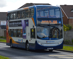 Stagecoach in Newcastle 19149 NK07HBJ (Cobalt271) Tags: 2 newcastle 400 alexander dennis stagecoach enviro trident in