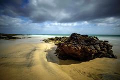 Fuerteventura, Spain (Marc Arnoud Rogier van der Wiel) Tags: ocean sea sky españa cloud beach water rock clouds landscape lava coast spain sand nikon outdoor fuerteventura atlantic shore vulcanic d600
