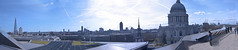 Rooftop (1) Panoramic Trial (4) (aaronwilde93) Tags: city bridge lake london eye art tourism rooftop saint st thames skyline modern youth photography flickr gallery riverside artistic tate britain wilde district sony south united aaron great creative citylife stpauls bank kingdom londoneye millenium pauls southbank cumbria alpha flickrart aaronwilde