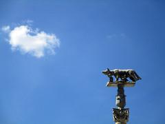 (SofiDofi) Tags: city trip travel blue sky italy dog statue clouds wonderful wolf europa europe italia lookingup tuscany april siena duomo traveling toscana daytrip wonderfulday sobeautiful wayuphigh spring2015 twomonthsinitaly