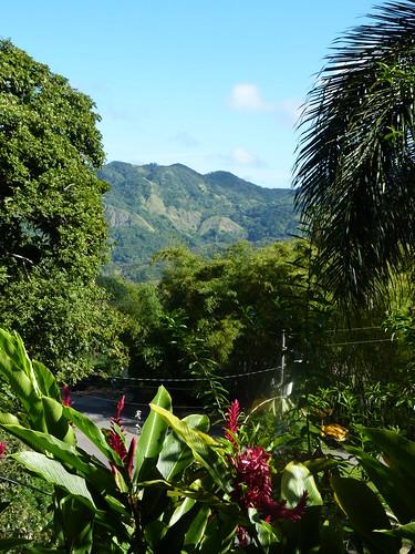 Jayuya, Hacienda Gripinas balcony view