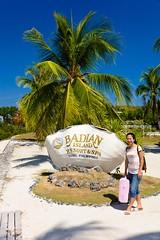 Badian Resort (Scott Weatherson) Tags: ocean family trees sea people building beach nature water island hotel sand asia philippines resort palmtrees cebu filipino sophia saltwater badian