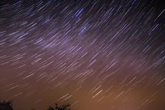 star trails (Agnieszka Malik) Tags: longexposure nightphotography ireland nightshot greatsugarloaf startrails stargazing cowicklow imagestacking 27frames