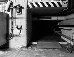 Wartungstunnel (Project-X-Team) Tags: bw 120 film mediumformat 150 bunker bronica hp5 40mm rodinal strangelove abomb acros warnamt