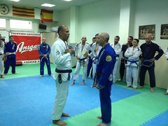 Seminario Royce Gracie 16-7-2013 Barcelona-Spain