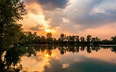 lake Zajarki (030) (Vlado Ferenčić) Tags: lakes lakezajarki zajarki zaprešić croatia nikond90 nikkor182003556 cloudy clouds landscapes canceledgroup vladoferencic vladimirferencic