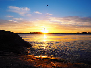Chimney Sunset