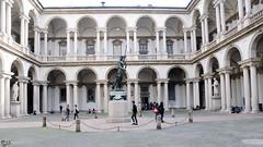 Accademia di Brera (lorenzog.) Tags: people italy milan students architecture nikon milano d300 2015 accademiadibrera