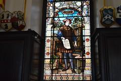 Caxton (Matt From London) Tags: window stainedglass printing caxton stationershall