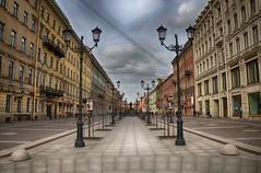 Not Nevsky's (@u.s.e.f.u.l.i.d.i.o.t) Tags: voyage street travel sky architecture stpetersburg nikon cloudy russia perspective saintpetersburg rue hdr russie saintpetersbourg d5100