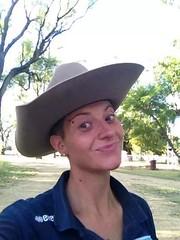 Valentina, cowgirl in Australia